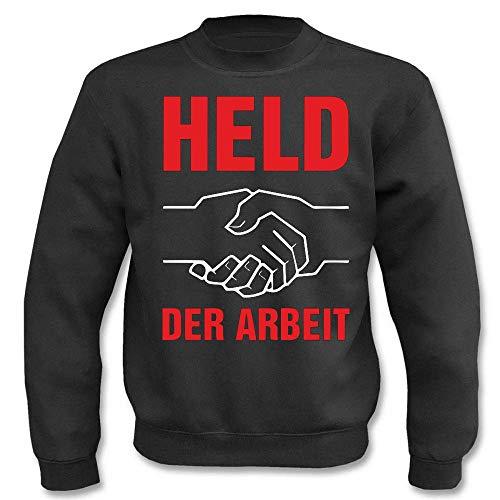 Textilhandel Hering Pullover - Held der Arbeit (Schwarz, M)