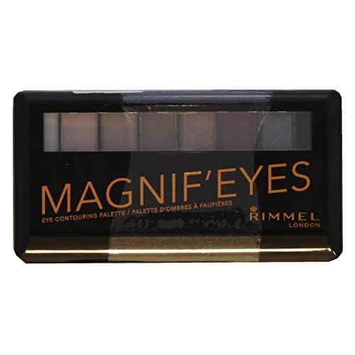 Rimmel London, Palette Ombretti MagnifEyes, 8 Tonalità Multiuso dal Finish Matte, Perlato e Gitter, 003 gunge Glamour