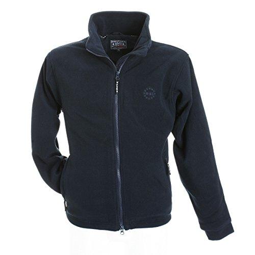 BMS Windsmoother Fleece Jacke, Marine, Größe L