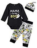 Baby Boys' Mama is My Boo Outfit Set Halloween Ghost...