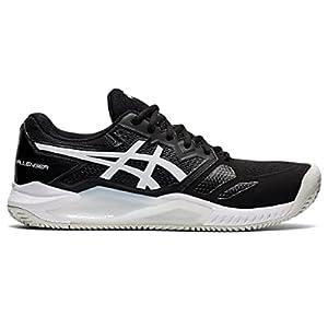 ASICS Men's Gel-Challenger 13 Clay Tennis Shoes, 11.5, Black/White