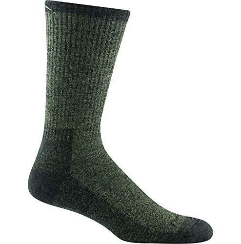 Darn Tough Nomad - Calcetín de peso medio con cojín completo para hombre - Verde - X-Large