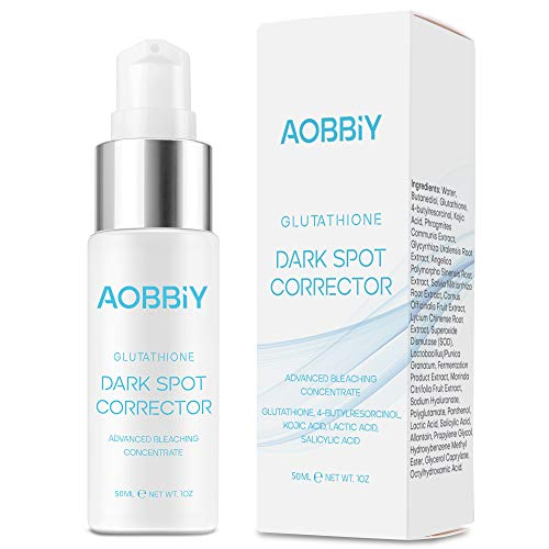 Aobbiy Dark Spot Corrector, With Effective Antioxidant Ingredients, Best Dark Spot Remover For Face and Body.