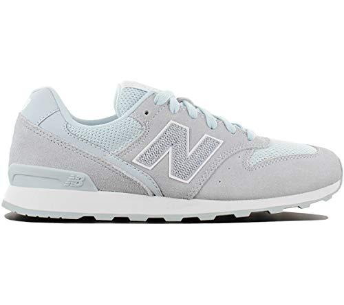 New Balance Damen WR996-LCC-D Sneaker, Grau (Grau/Hellblau Grau/Hellblau), 36.5 EU