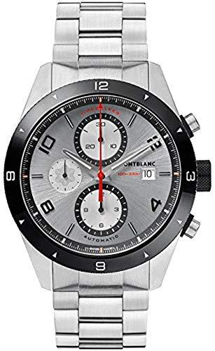 Montblanc TimeWalker Herren-Armbanduhr 43mm Armband Edelstahl Automatik 116099