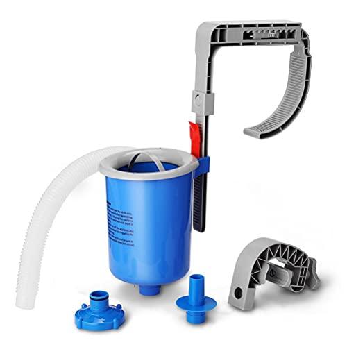 Chiyyak Skimmer de piscina montado en la pared, filtro automático de piscina, piscina para pozos