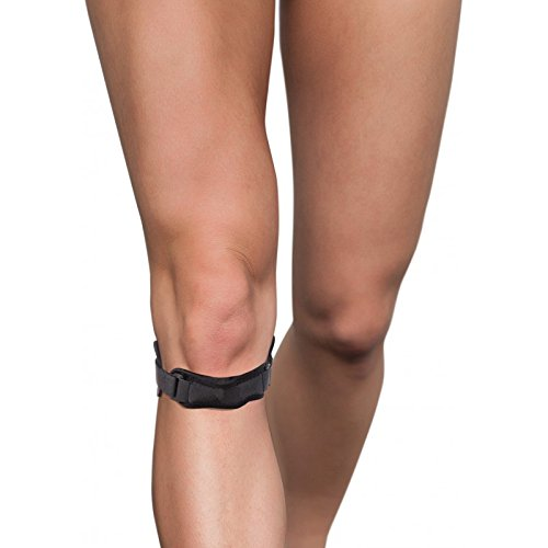 Correa para la tendonitis rotuliana; Correa de rodilla; cinturón para el síndrome de rodilla de saltador, SDPF, ITBS, Condromalacia.