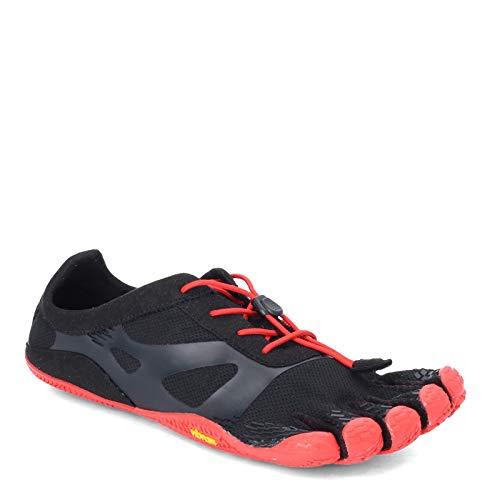 Vibram Cinco Dedos, KSO EVO Zapatillas de Entrenamiento Negro/Rojo, Negro (Negro / Rojo), 43 EU
