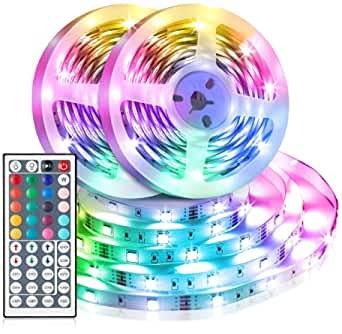 Striscia LED RGB SMD 5050 Bluetooth Musica Sync LED