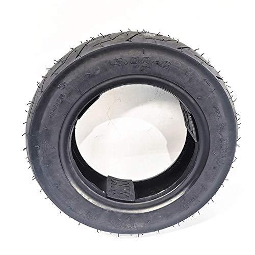 LYTBJ 3.00-8 Neumáticos de Goma al vacío para Ruedas de Bicicletas eléctricas...