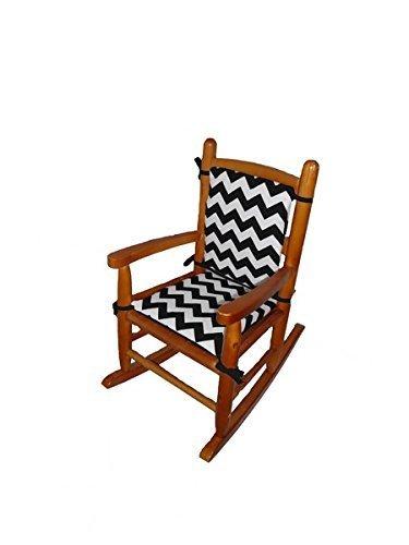 Baby Doll Bedding Chevron Tulsa Mall Junior Chair Black Pad Discount is also underway Rocking