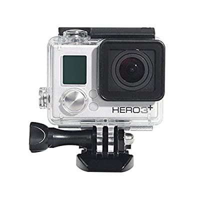 Waterproof Case for Gopro Hero 4 3 Plus, Protective Rotective Underwater Dive Case Cover Housing for Go Pro Hero 4 3+ 3 by SOLIDPIN