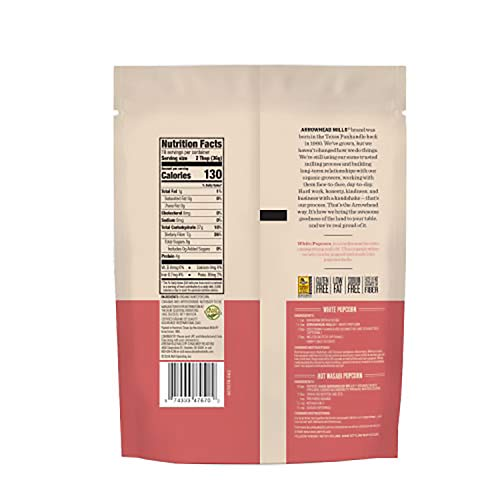 Product Image 2: Arrowhead Mills Organic White Popcorn Kernels, 24 Ounce Bag (Pack of 6)