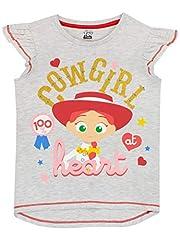 Disney Camiseta de Manga Corta para niñas