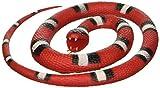 """Wild Republic Rubber Snakes 46"""", Colore Piccolo Scarlet, 117 cm, 20773"""