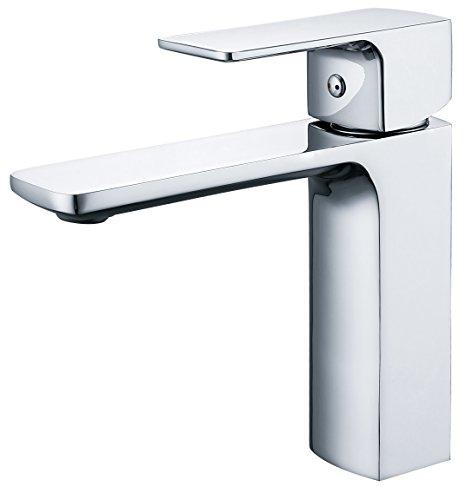 LHbox Bad Armatur in Bad für Waschbecken Waschtisch Wasserhahn Waschtischarmatur Waschbecken Waschtisch Armatur. Das Kupfer kalt Wasser auf der Konsole Tisch Waschbecken Waschtisch Armatur