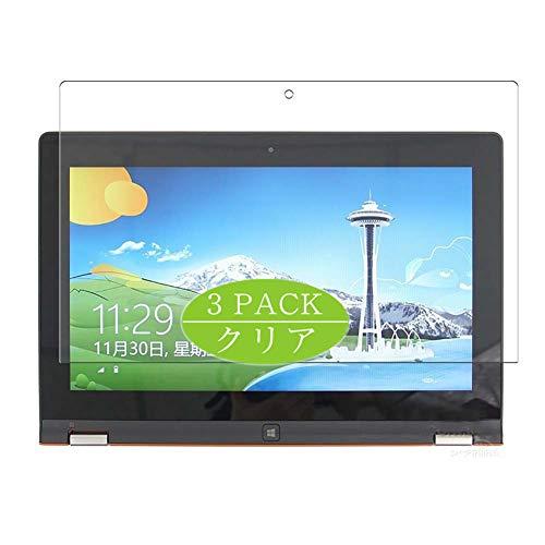 VacFun 3 Piezas Claro Protector de Pantalla, compatible con Lenovo Yoga 11s 11.6', Screen Protector Película Protectora(Not Cristal Templado) NEW Version