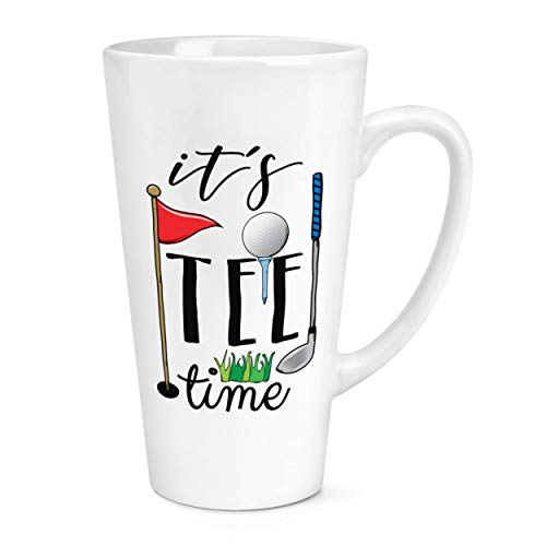 It's T-Shirt Temps Golf 17oz Grand Café au Lait Tasse Chope
