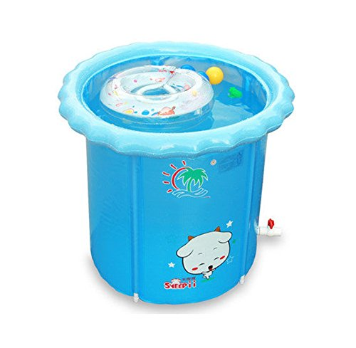 yugang yupen Bébé piscine maison nouveau-né bébé piscine gonflable isolation bébé piscine seau bain baril pliant (taille : 110x90cm)