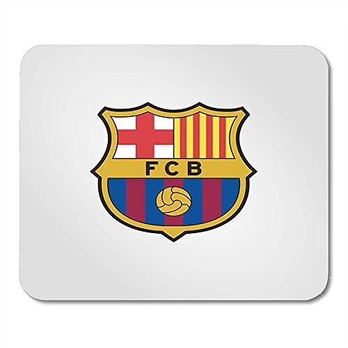 QDAS muispads Barca Surabaya Indonesië februari Barcelona Fc voetbal opgericht in merk-muisonderlegger Katalonië Spanje voor notebooks computer