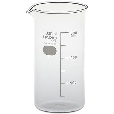 HARIO (ハリオ) トール ビーカー H-32 ビーカーシリーズ 300ml クリア 日本製 TB-300-H32 1個入