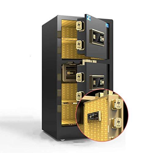 qazxsw Safes Electronic Home Safe mit mittlerem Bürofingerabdruck Safe Home Smart Diebstahlschutz Büroschrank Schranksafes