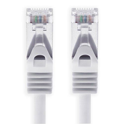 Cable Ethernet Cat7 Cat.7 Gigabit Cable de Red LAN con Conector Cat6a...