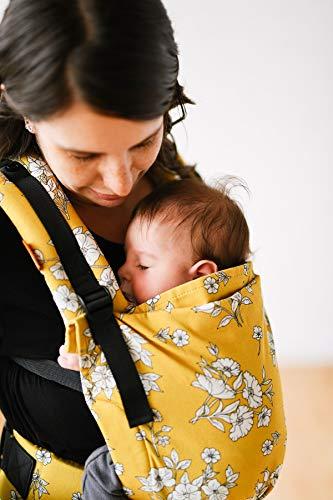Baby Tula - Free-to-grow BLANCHE Marsupio regolabile per neonati, ergonomico 3,2-20,4 kg