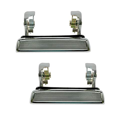 Chrome Outer Door Handle Pair Set D8BZ5422404A for Mercury Ford Pickup Truck