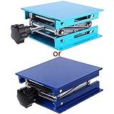 smallJUN 4'x4 Tavolo elevatore per Router in Alluminio Supporto per falegnameria da Laboratorio per Incisione su scaffale Blu