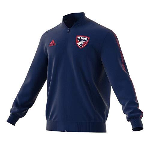 adidas FC Dallas Anthem Jacket Official Full-Zip (Medium)