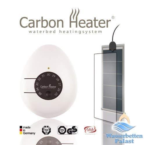 Carbon Heater Classic LS- 240 Watt - T.B.D energiespar Wasserbettheizung für Leichtbauwasserbetten und Schlauchsysteme - hervorragend abgeschirmt