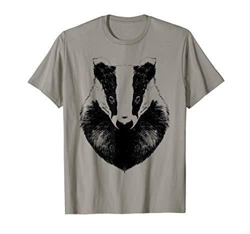 Honigdachs Design Niedliche Honigdachse Lustige Zeichnung T-Shirt