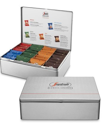 Segafredo Capsule Kapsel Kaffee Maschine (Selection Box Capsule 28 Stück)