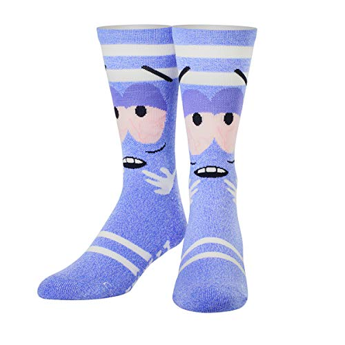 ODD SOX Unisex Crew-Socken - Towelie (South Park)-(Größe: 38-46)