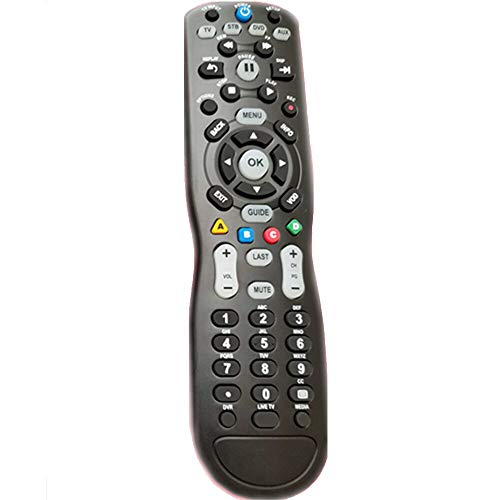 Replacement Remote Control for AC TV AV New RCU-403 for Entone Time Warner Cable Set Top Boxes with TV DVD for VCR Audio Devices Remote Control