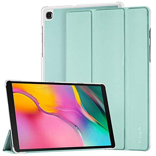 EasyAcc Funda Compatible con Samsung Galaxy Tab A 10.1 2019, Ultra Slim PU Protectora Carcasa con Función de Soporte Compatible con Samsung Galaxy Tab A 10.1 2019 SM-T510/ T515, Verde Menta