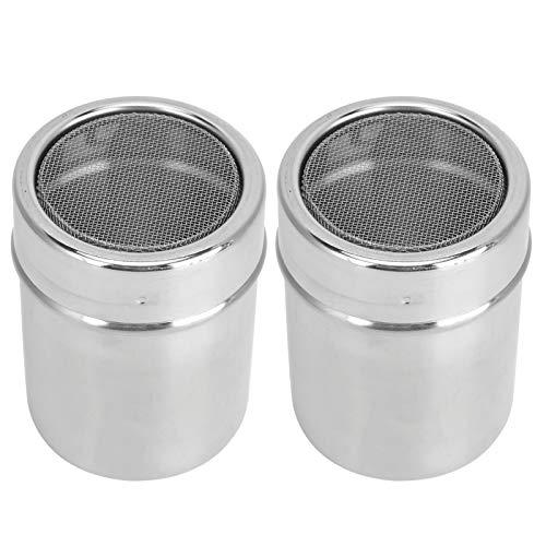 Silver Powder Dredge, Powder Shaker, pour sel poivre