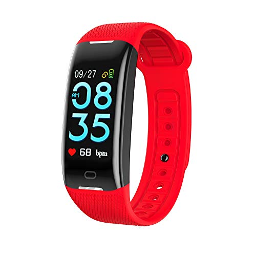 Z21 Fitness Tracker GPS Bluetooth Smart Bracelet Wristband iOS Android Phone Support SIM/TF Dial Call and Push Message (Red)