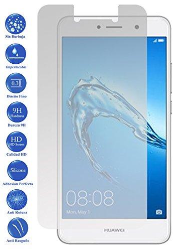 Todotumovil Protector de Pantalla Huawei Y7 2017 de Cristal Templado Vidrio 9H para movil