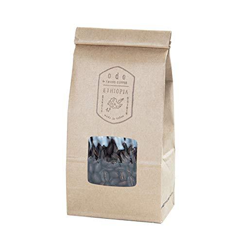 [Amazon限定ブランド] ode エチオピア オーガニック モカ コーヒー豆 Organic Ethiopia Moka Fair Trade Coffee Beans (200g 中細挽き)