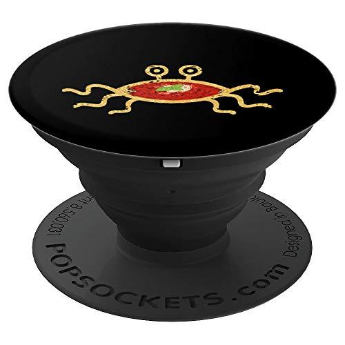 Fliegendes Spaghetti Monster FSM Atheist Religion Pastafari - PopSockets Ausziehbarer Sockel und Griff für Smartphones und Tablets