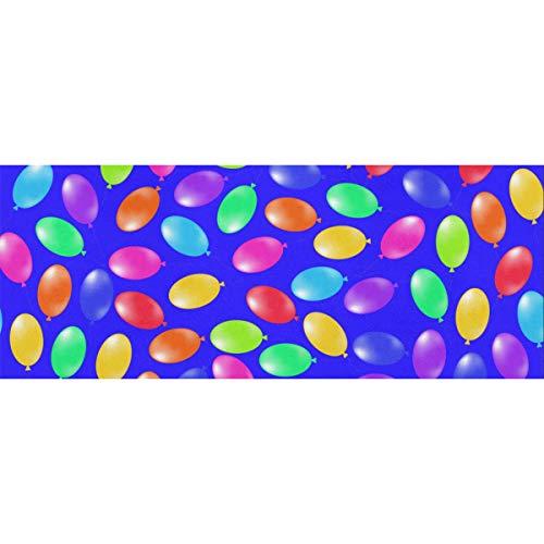 Bunte Kugeln, die auf dem blauen Pool Geschenkpapier schwimmen Geburtstag 58x23inch 2 Rollen Weihnachten Geschenkpapier Geschenkpapier Seidenpapier für Muttertag Ostern Hochzeiten Geburtstage oder je
