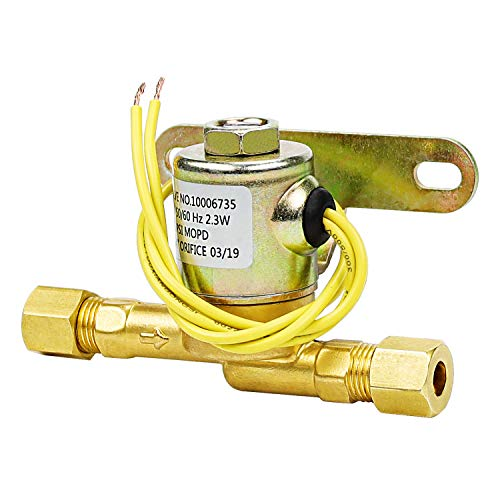 TOMOON Humidifier Water Solenoid Valve 4040,Exact for Aprilaire Valve 400, 400M, 500, 500M, 600, 600M, 558, 550A, 550, 568, 560A, 560, 700, 700M, 768, 760A, 760| 24 Volts | 2.3 Watts | 60 HZ-Yellow