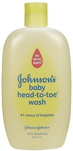 JOHNSON'S Head-to-Toe Baby Wash 15oz. (Pack of 7) -  Johnson & Johnson, 10381370032370