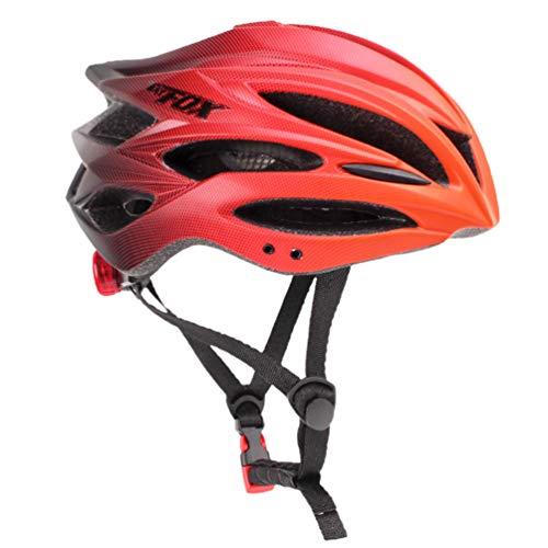 LIOOBO Casco de Bicicleta para Adultos Casco de Bicicleta de Carretera MTB...