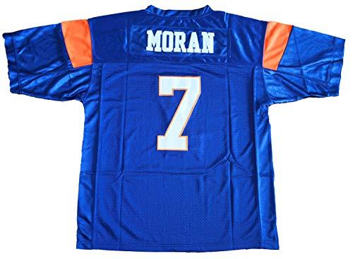 Blue Mountain State 7 Alex Moran Football Jersey Blue (Blue, XX-Large)