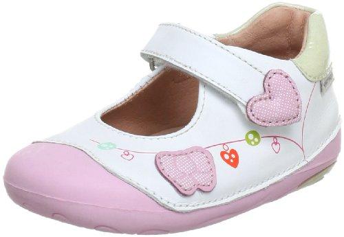 Garvalin Baby Mädchen 132301A Lauflernschuhe, Weiß (Blanco), 21 EU