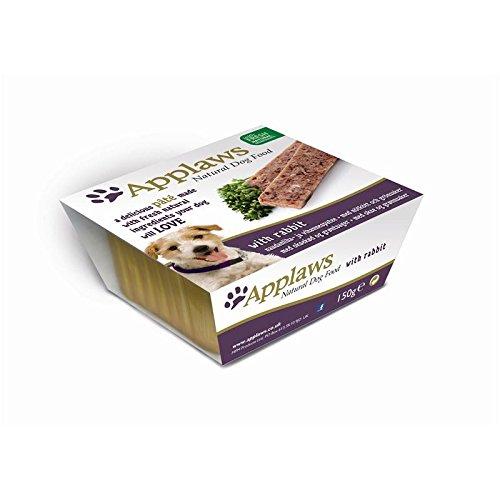Applaws hond, pasta met haas en groenten, natte voer, schaaltjes, per stuk verpakt (1 x 1,05 kg)