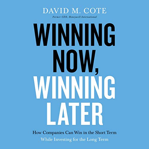 Winning Now, Winning Later cover art